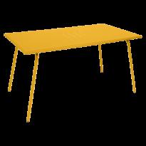 Table haute MONCEAU de Fermob, 146x80x74, Miel