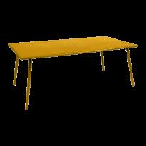 Table haute MONCEAU de Fermob, 194x94x74, Miel