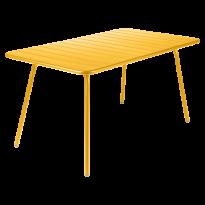 Table LUXEMBOURG pour 6 personnes de Fermob, Miel