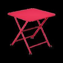 Table basse Enfant TOM POUCE 50 x 50 CM de Fermob, Rose praline