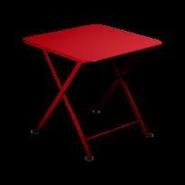 Table basse Enfant TOM POUCE 50 x 50 CM de Fermob, Coquelicot