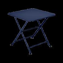 Table basse Enfant TOM POUCE 50 x 50 CM de Fermob, Bleu abysse