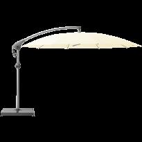 Parasol décentré PENDALEX P+ de Glatz, Rond, D.325 cm, 649 Ivory