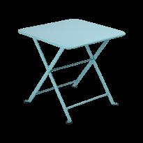 Table basse Enfant TOM POUCE 50 x 50 CM de Fermob, Bleu lagune
