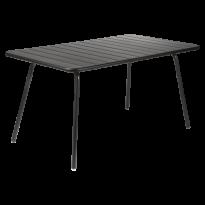 Table LUXEMBOURG pour 6 personnes de Fermob, Réglisse