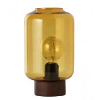 Lampe COLUMN de Frandsen, Grand modèle, Verre moutarde