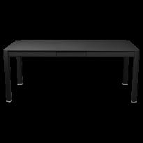 Table à allonges RIBAMBELLE de Fermob, 1 allonge, Réglisse