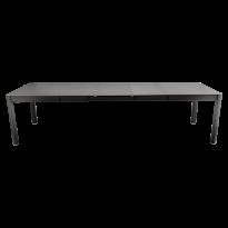 Table à allonges RIBAMBELLE de Fermob, 3 allonges, Réglisse
