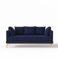 Canapé CUSTINE de Panac, 2 tailles, 5 options, 29 coloris