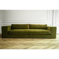 Canapé  4 places BELLECHASSE de Panac, laine bouillie, gris