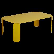 Table basse rectangulaire BEBOP de Fermob, H.42, Miel