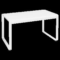 Table BELLEVIE de Fermob, 140 x 80, Blanc coton