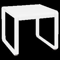 Table mi-haute BELLEVIE de Fermob, 74 x 80, Blanc coton