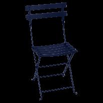 Chaise BISTRO métal de Fermob, Bleu abysse