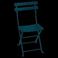 Chaise BISTRO métal de Fermob, Bleu acapulco