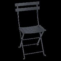 Chaise BISTRO métal de Fermob, Carbone