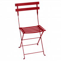 Chaise BISTRO métal de Fermob, Coquelicot