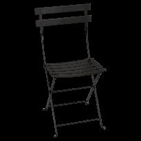 Chaise BISTRO métal de Fermob, Noir Réglisse