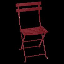 Chaise BISTRO métal de Fermob, Piment