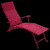 Chaise longue pliante BISTRO de Fermob, Rose praline