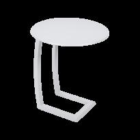 Table basse déporté ALIZÉ de Fermob, Blanc coton