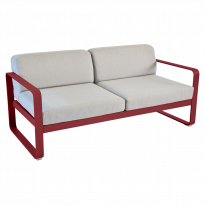Canapé BELLEVIE de Fermob, 3 options tissu, 24 coloris