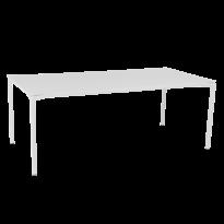 Table CALVI de Fermob, Blanc coton