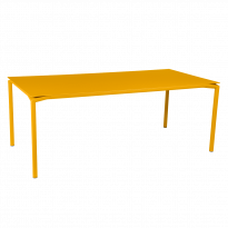 Table CALVI de Fermob, Miel