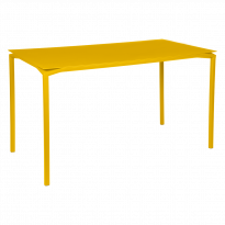Table haute CALVI de Fermob, Miel