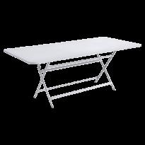 Table rectangulaire CARACTÈRE de Fermob, Blanc coton