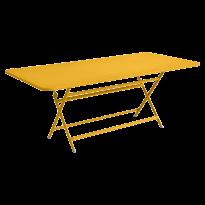 Table rectangulaire CARACTÈRE de Fermob, Miel