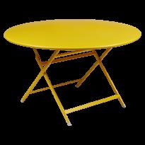 Table ronde CARACTÈRE de Fermob, Miel