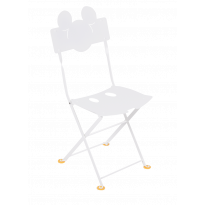 Chaise Bistro enfant MICKEY MOUSE© de Fermob, Blanc coton