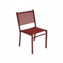 Chaise COSTA de Fermob, piment