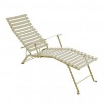 Chaise longue pliante BISTRO de Fermob, Muscade