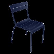 Chaise LUXEMBOURG de Fermob, Bleu abysse