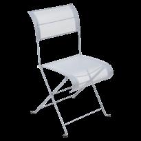 Chaise pliante DUNE PREMIUM de Fermob, Gris métal