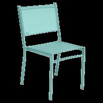 Chaise COSTA de Fermob, Bleu lagune