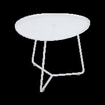 Table basse COCOTTE de Fermob, Blanc coton