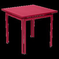 Table carrée COSTA de Fermob, Rose praline
