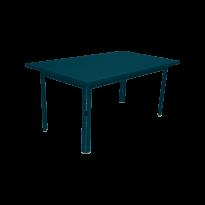 Table COSTA de Fermob, bleu acapulco