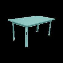 Table COSTA de Fermob, Bleu lagune