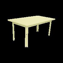 Table COSTA de Fermob, Citron givré