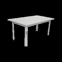 Table COSTA de Fermob, Gris métal
