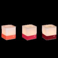 Lot de 3 photophores CUUB de Fermob, 3 coloris