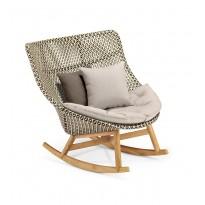 Rocking-chair MBRACE sans coussin de Dedon, 4 coloris