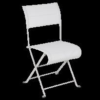 Chaise pliante DUNE PREMIUM de Fermob, Gris argile Stéréo