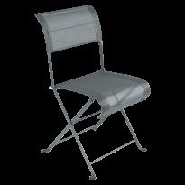 Chaise pliante DUNE PREMIUM de Fermob, Gris orage