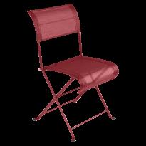 Chaise pliante DUNE PREMIUM de Fermob, Piment