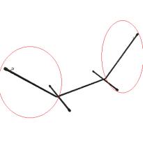 Pièce détachée Headdemock de Fatboy, Tube gauche ou droite de la structure